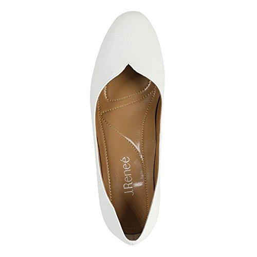 J.renee Womens Bambalina Dress Pump White