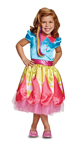 Disguise Sunny Classic Toddler Child Costume, Multi Color, Large/(4-6x) -