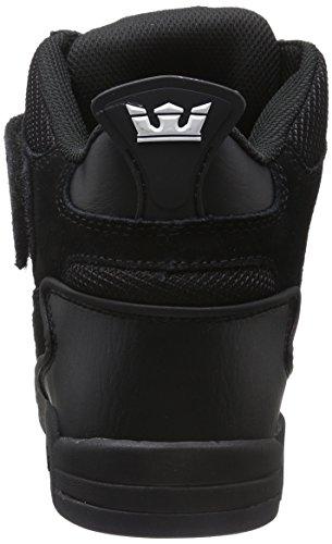 092 Black Basses Noir Supra Schwarz Black Bleeker Baskets Black Homme OwqPT6