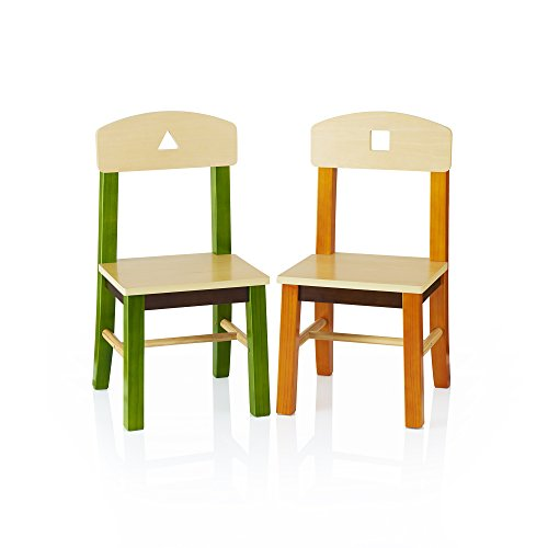 Guidecraft See and Store Extra Chairs Set of 2 - Kids School Furniture by Guidecraft