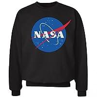 Her Trendy NASA Sweater: Unisex Hanes Ultimate Crewneck Sweatshirt