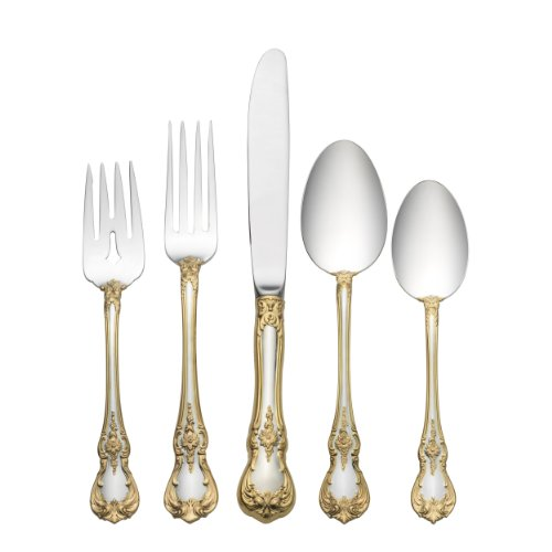Towle Old Master Gold Accent 4-Piece Place Setting