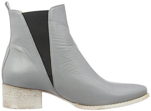 Anna Black Boots Chelsea Women's Bork Grey qq0UOw