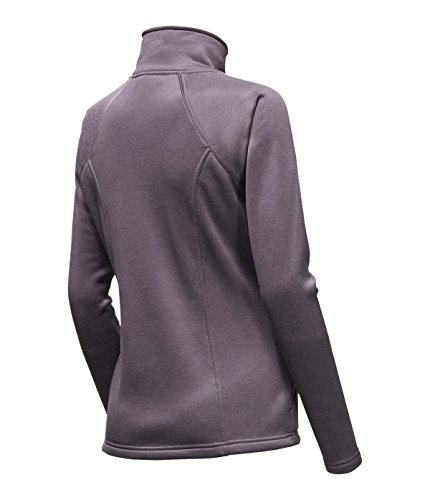- The North Face Agave Full Zip Womens Rabbit Grey Heather Large