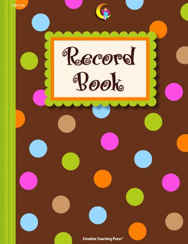Dots on Chocolate® Record Book