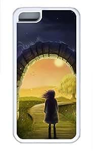 iPhone 5c case, Cute Magic Gateway iPhone 5c Cover, iPhone 5c Cases, Soft Whtie iPhone 5c Covers