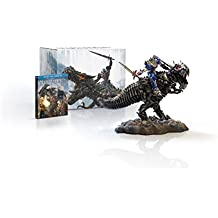 Transformers: Age of Extinction Limited Edition Gift Set with Grimlock and Optimus Collectible Statue