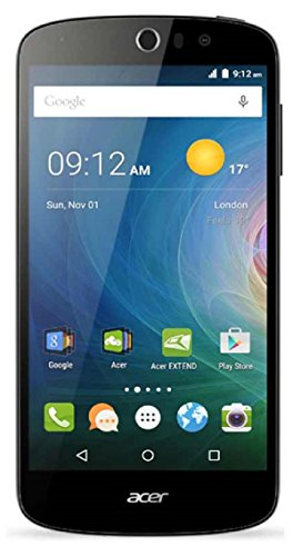 Acer Liquid Z530 16GB Unlocked GSM 4G LTE Quad-Core Smartphone w/Dual 8MP Cameras - Black
