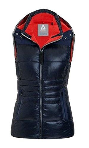 Gaastra heavy weather veste sans manches pour femme bleu marine