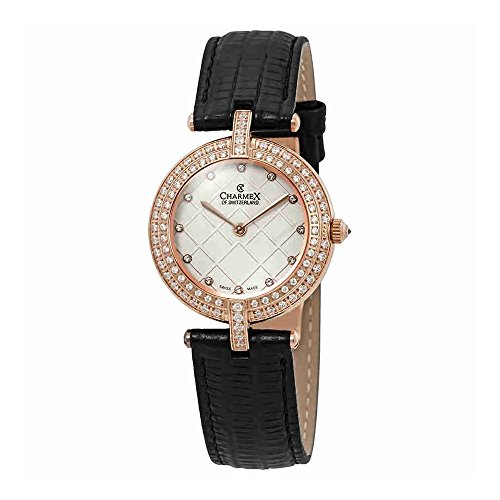 Charmex Las Vegas Crystal White Dial Ladies Watch 6391