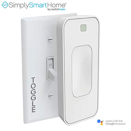 SimplySmartHome Motion Activated Instant Smart Light Switch Toggle That Listens 3 (White) - (Renewed)