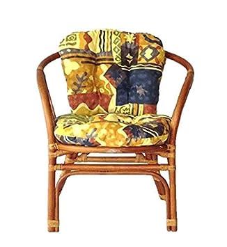 Amazon.com: Lounge - Juego de sillones de mimbre de bahama ...