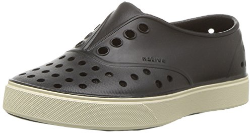 Native Miller Slip-On Sneaker ,Jiffy Black,10 M US Toddler
