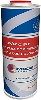 Aceite COMPRESOR AA/CC C/COLORANTE PAG100 1L: Amazon.es: Coche y moto
