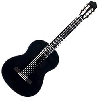 Yamaha C40 BL Guitarra clásica color negro (Incluida funda ...
