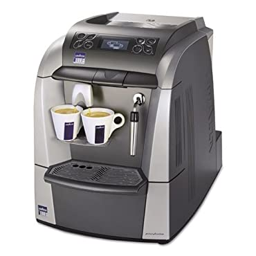 Lavazza 10080632 Blue 2312 Espresso/Cappuccino Machine, 1 gal Tank, Silver/Gray, 18.6 Width x 12.9 Depth x 15.4 Height