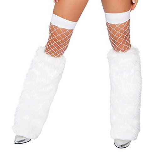 Moonight Women's Furry Fuzzy Leg Warmers