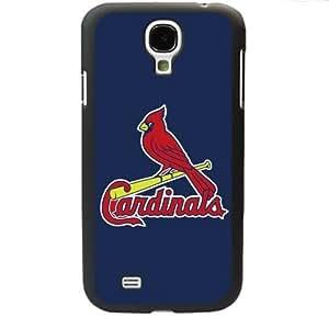 MLB Major League Baseball St. Louis Cardinals Samsung Galaxy S4 SIV I9500 TPU Soft Black or White case (Black)Kimberly Kurzendoerfer