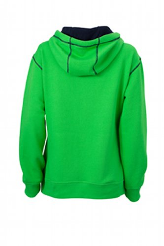 Kapuzensweatshirt Nicholson Hoody Lifestyle Green Felpa James Navy amp; Ladies' Donna xqEw5OBXO