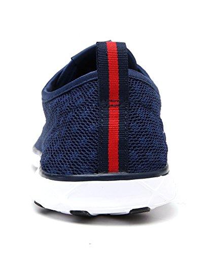 Dreamcity Mujeres Water Zapatos Athletic Sport Zapatos Ligeros Para Caminar Navy