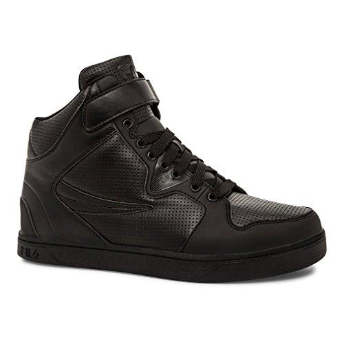 Fila Men's Sofico 2 Fashion Sneakers, Black Synthetic, 10.5 M