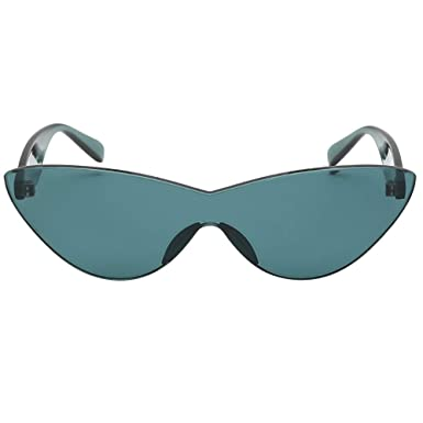 76c5b62b3 Amazon.com: Women Man Fashion Vintage Solid Color Sunglasses Eyewear Retro  Unisex: Clothing