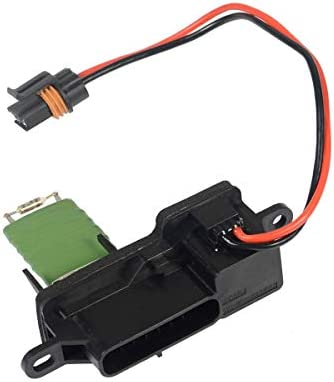 A-Premium HVAC A/C Blower Motor Resistor Replacement for Chevrolet Astro 1996-2005 GMC Safari Front Blower only