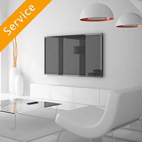 TV Wall Mounting - Up to 50 inch, Customer Bracket, Cords Concealed in Cord Cover