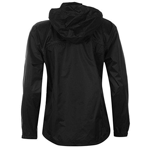 Karrimor de agua Sierra chaqueta para mujer la lluvia ligero nuevo resistente al viento negro