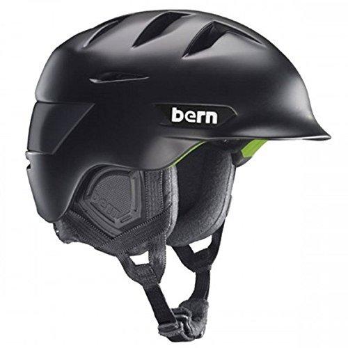 Bern 2014/15 Rollins Zip Mold Winter Snow Helmet (Matte 黒 w/ 黒 Liner - XXL/XXXL) [並行輸入品]