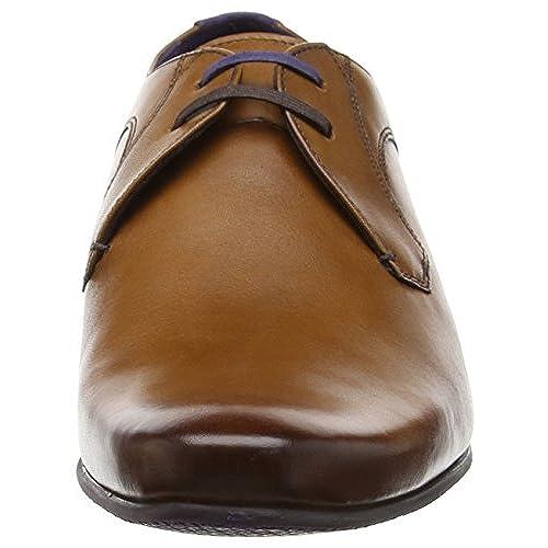 0c9bf19e281b0 good Ted Baker Mens Tan Martt 2 Leather Derby Shoes - holmedalblikk.no