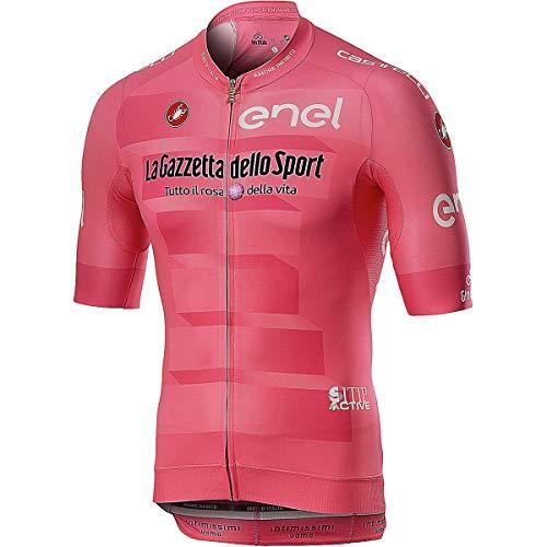 Castelli #Giro102 Rosa Giro Race Jersey - Men's Rosa Giro, - Cycling Italia Jersey