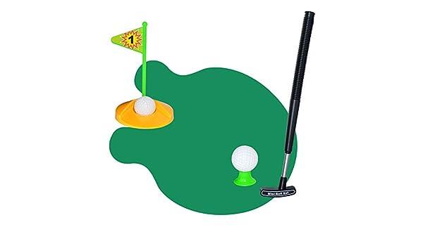 Golf del inodoro, set de baño del baño Juego de mini golf ...
