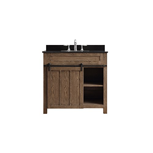 Bathroom Nutmeg Single Vanity - Ove Decors Oakland 36 Classic Nutmeg Freestanding Vanity,