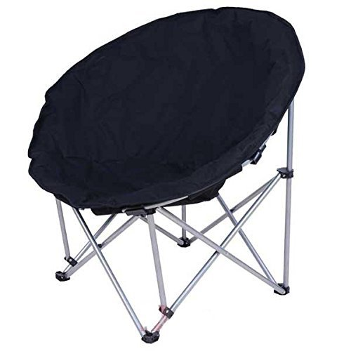 Amazon.com: triprel Inc. Grande Negro plegable silla Moon ...
