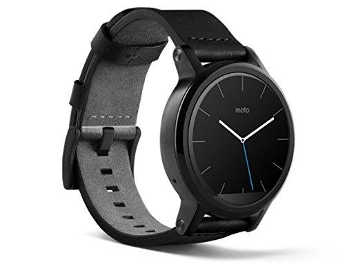 Motorola Moto 360 2nd Gen Smartwatch 42mm Leather Band ...