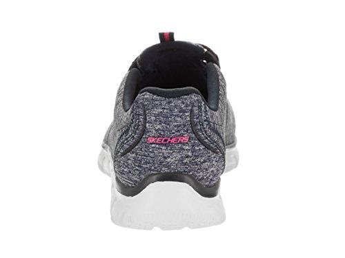 Skechers Kvinna Sport Imperium - Sten Runt Avslappnad Fit Mode Sneaker Marin / Hot Pink
