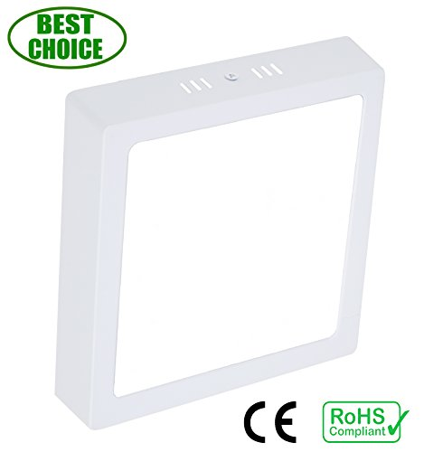"""4.72"""" Led Flush Mount Ceiling Light,Square Surface Panel Lamp, 6W 480lm, 6000K, Cool White, for Indoor, Stairs, Living Room, Hallway, Pantry"""