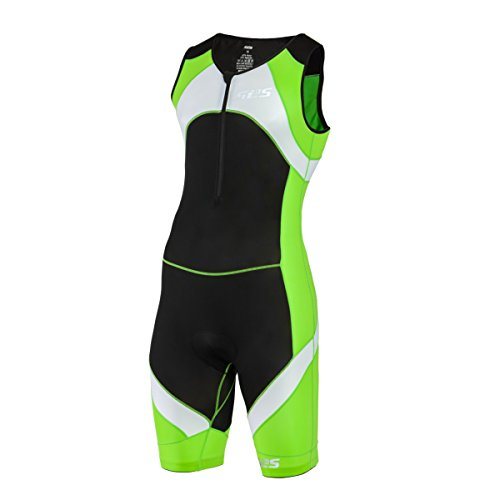 Men`s Triathlon Tri Suit | 1 Pocket Skinsuit Trisuit | Great Fit And Comfortable | German Designed