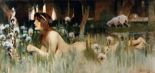 (Frank Craig Nude in the Woods 152x72 [Kitchen])
