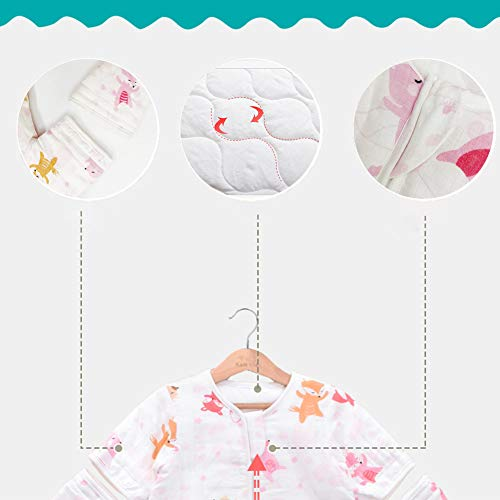 Baby Sleep Bag with Feet, Early Walker Wearable Blanket with Legs, Sack for Toddler 2.5 TOG (Medium,31.5 inches)