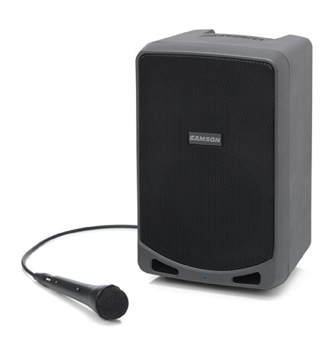 Samson Expedition XP106 Rechargeable Portable PA System with Wired Handheld Microphone and Bluetooth