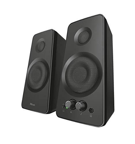 Trust Cilax - Juego de altavoces 2.0, USB, 36 W, color Negro