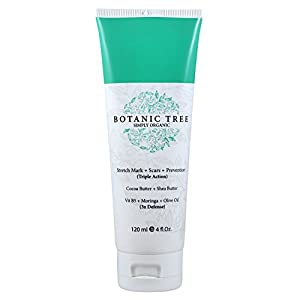 Botanic Tree Stretch Mark Cream-It Helps to Decrease Stretch Marks in 93% of Customers in 2 Months-Stretch Marks Remover…
