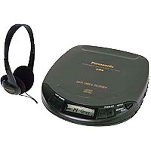Panasonic SL-S202 Portable CD Player with Anti-Shock Memory ()