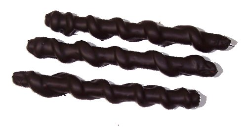 8oz Dark Chocolate Covered Caramel Pretzel Rods Certified - Rod Chocolate Candy
