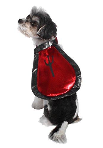 [AKC-American Kennel ClubClub AK3041-L Halloween Devil Cape Pet Costume, Large] (Devil Costume For Dog)