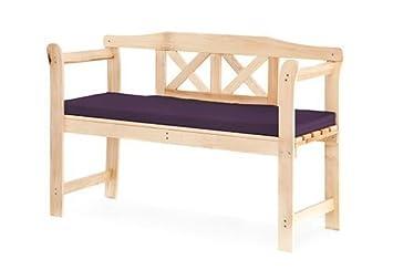 Amazonde Violett Kissen Für Kleine 2 Sitzer Garten Bank