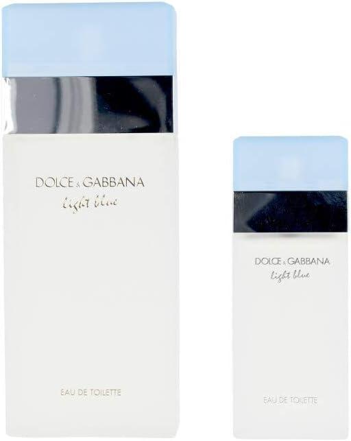 Dolce & Gabbana Light Blue Pour Femme Lote 2 Pz, 200 g: Amazon.es: Belleza