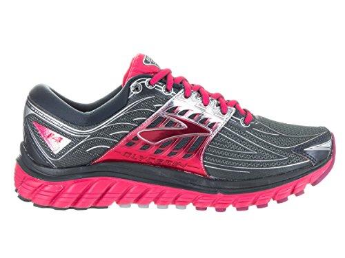 De Femme Running Glycerin Chaussures Compétition 14 Brooks Anthracite silver azalea tBq1n